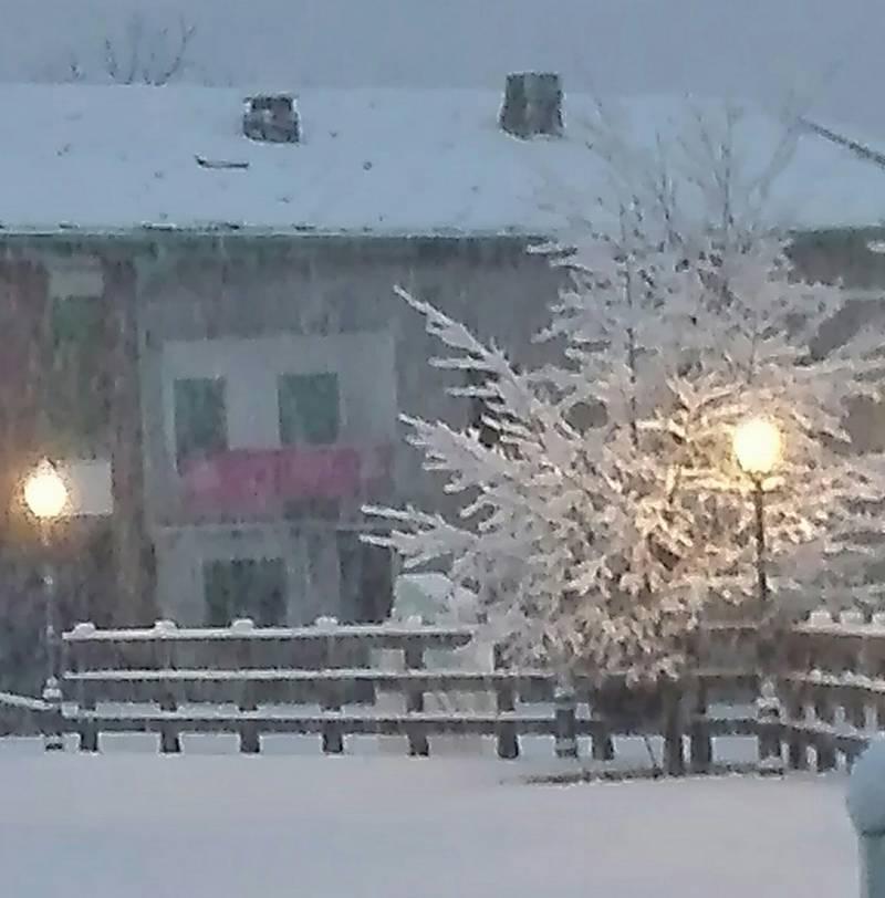 Prima neve.....14 novembre frassinetto