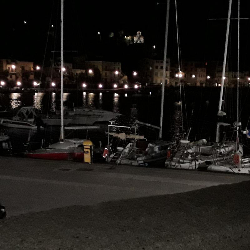 Marina by night
