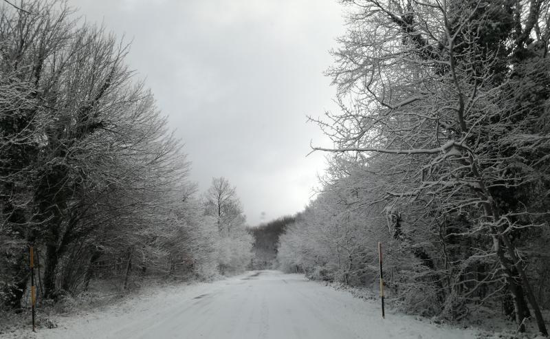 E' nevicato in altomolise