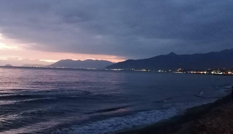 Romantico tramonto