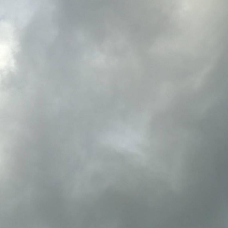Nuvoloso ma senza pioggia