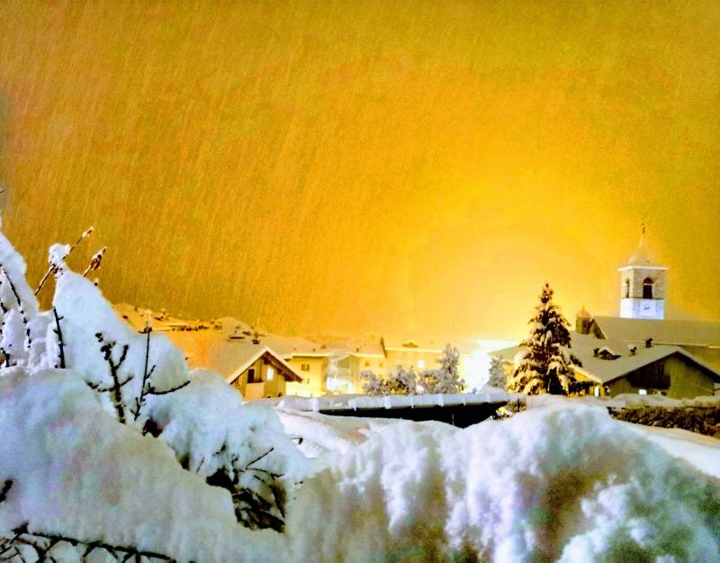 Taio sotto la neve