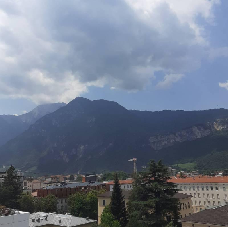 Foto Meteo: Trento Ore 13.15 Aumento Vento « 3B Meteo