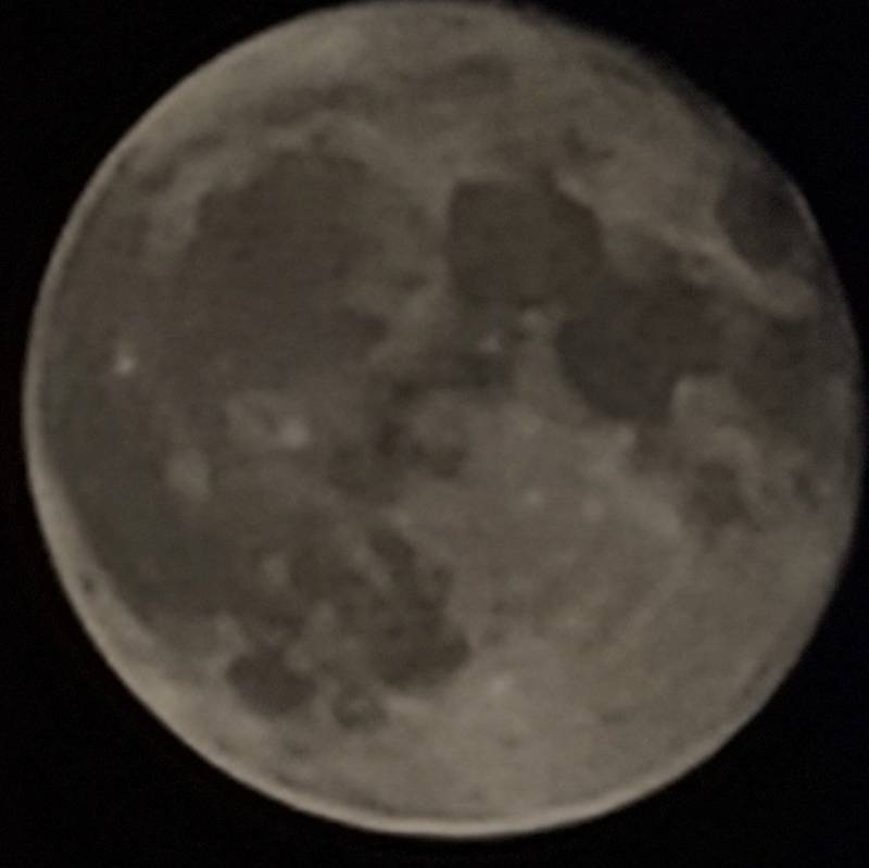 La luna piena del 3 settembre 2020