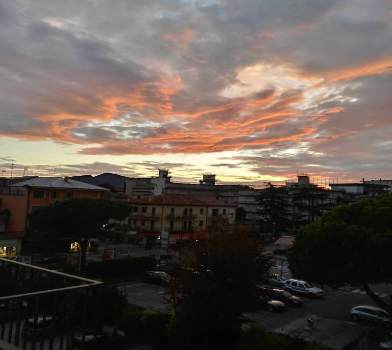 Foto Meteo: Tramonto Ad Abano Terme « 3B Meteo