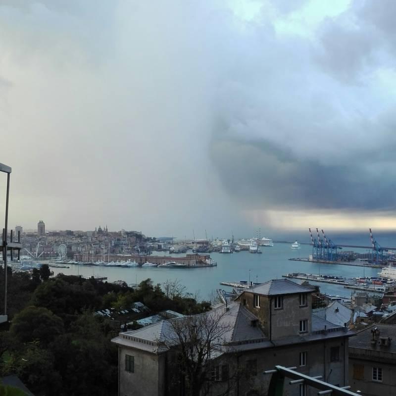 Pioggia dal mare