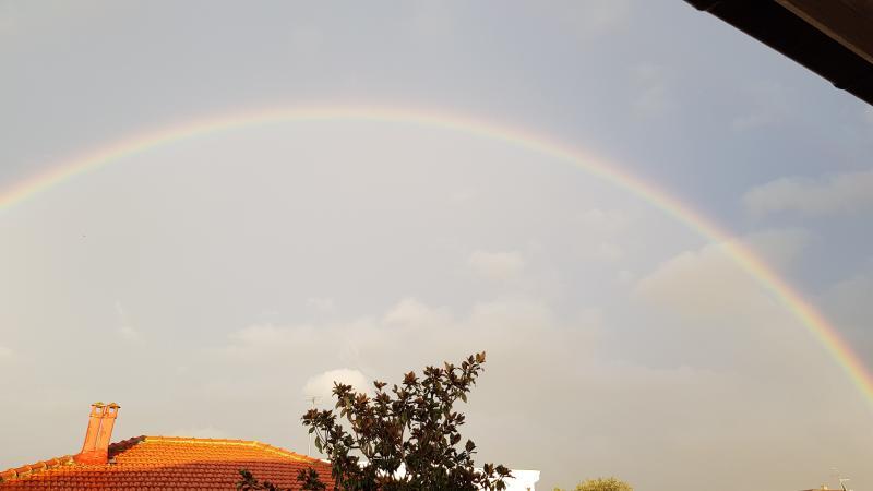 Cepagatti con arcobaleno
