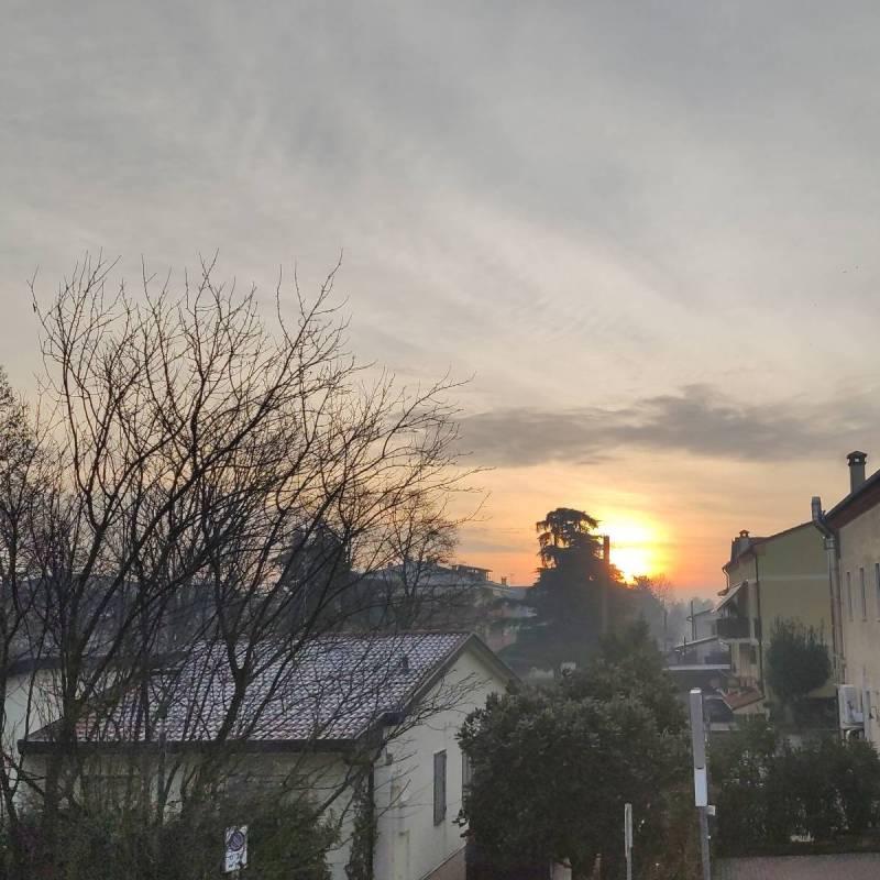 Foto Meteo: Sole Velato Da Nebbia « 3B Meteo