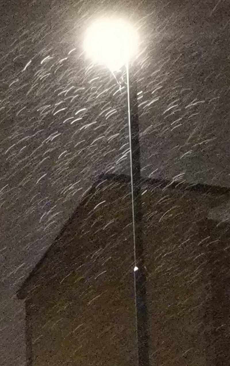 Neve a Novara