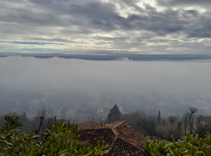 Brescia vista da sopramaddalena
