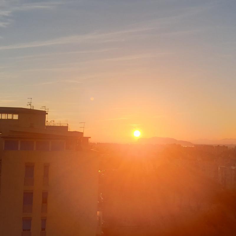 Splendida mattina a palermo