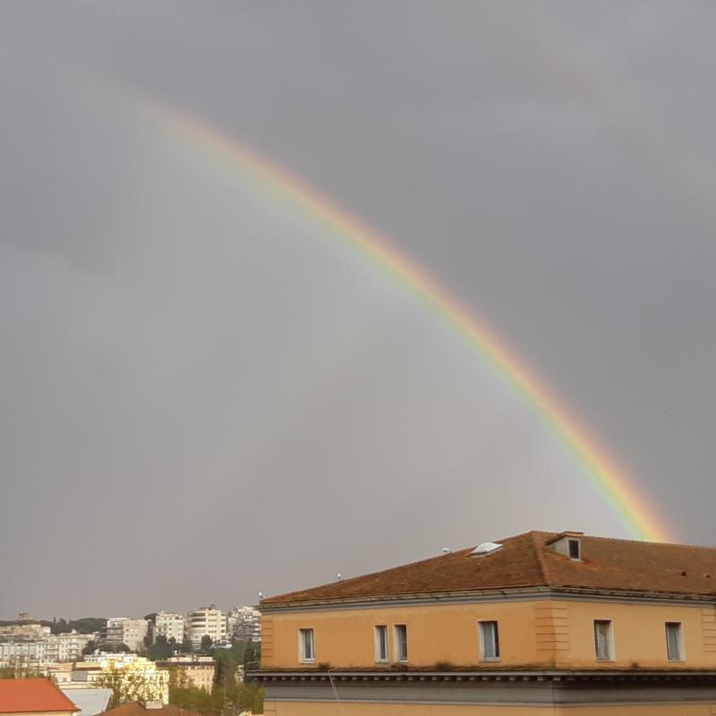 Arcobaleno su roma