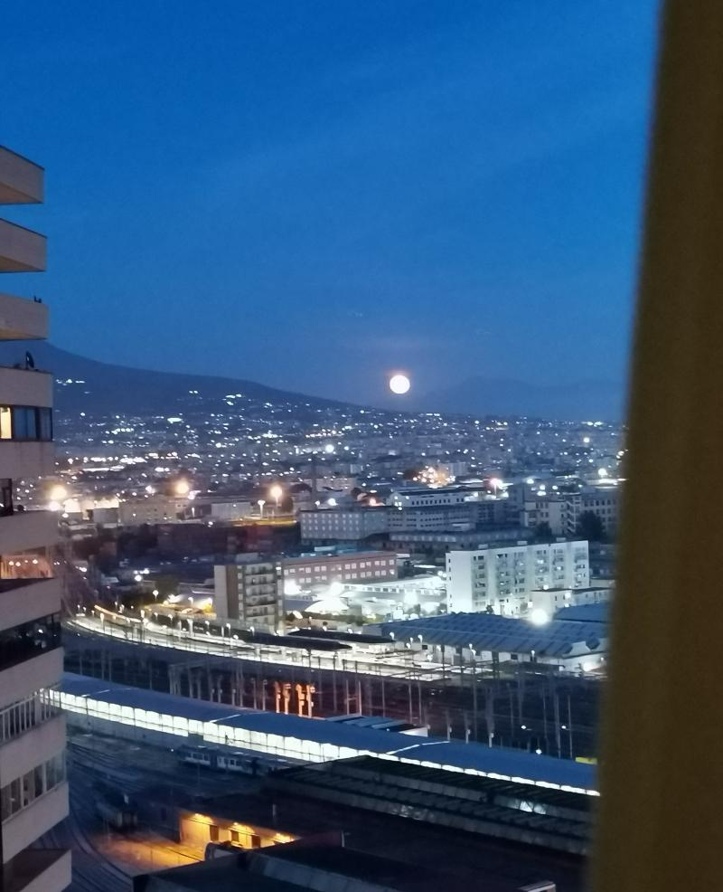 La superluna al centro direzionale