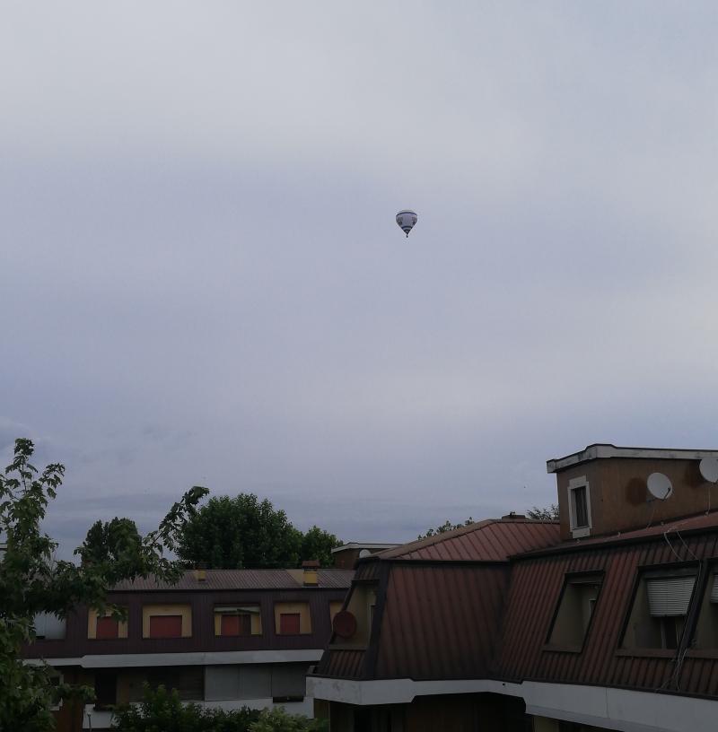 Velature e mongolfiera