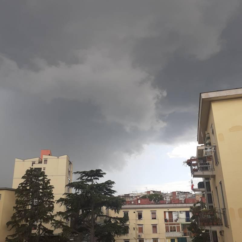 Questo nuvolone non promette niente di buono