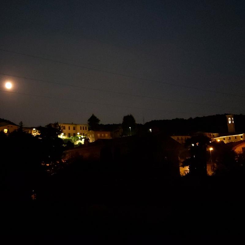 Sotto la luna a entratico