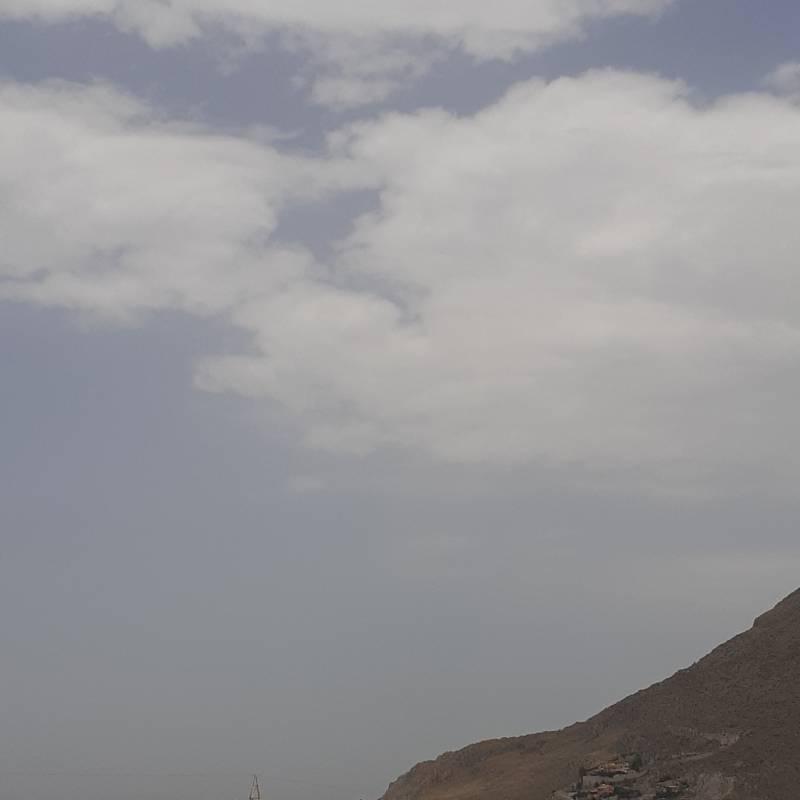 Lo scirocco e le tante nuvole
