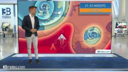 Tendenza meteo per il weekend 21-23 agosto