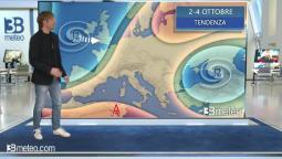 Tendenza meteo Italia 2-4 Ottobre