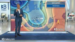 Tendenza meteo per il prossimo weekend