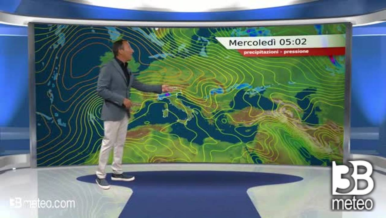 METEO MERCOLEDÌ, instabile con temporali su parte del Nord e ...