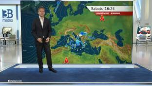 A tratti instabile su medio Adriatico, Sud e Sardegna, più soleggiato altrove...