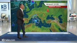 Variabile al Nord, instabile sulle Isole; temporali anche tra Lazio e Toscana...