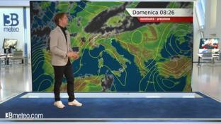 Bel tempo prevalente con qualche temporale su Alpi e alte pianure del Nord...