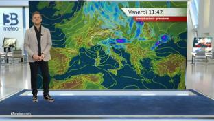 Rovesci e temporali tra Nord Est e medio versante adriatico. Più sole altrove....