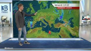 Tempo stabile e con sole prevalente sull'Italia, temperature massime in rialzo...