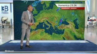 Sole prevalente e clima estivo; isolati piovaschi pomeridiani in Appennino....