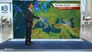 Diffusa instabilità da Nord a Sud dell'Italia con rovesci e temporali sparsi...