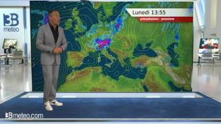 Forti temporali al Nord, peggiora anche su Emilia e alta Toscana entro la notte...