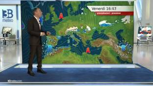 Nuvolosità irregolare con piovaschi su Centro-Nord e isole maggiori. Clima mite...