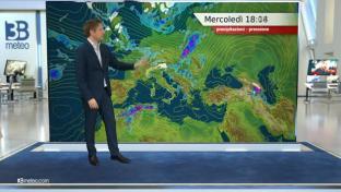 Piovaschi al Centrosud, piogge su Alpi, Prealpi, alte pianure del Nord e Sicilia...
