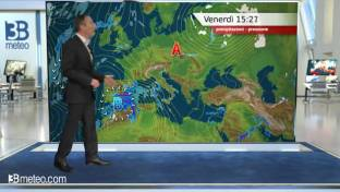 Peggiora al Centro-Nord con deboli piogge tra Liguria e Toscana, meglio altrove...