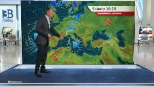 Maltempo su Sicilia e Calabria, qualche rovescio diurno su Alpi e Appennino...