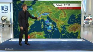 Temporali dalle Tirreniche verso il Sud; meglio al Nord con instabilità su Alpi...