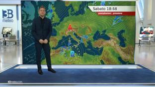 Ampie schiarite al Nord e Toscana, instabile al Centrosud con piogge e rovesci...