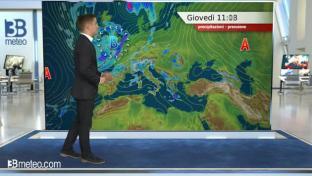 Instabile tra Liguria e Toscana; più sole altrove. La sera peggiora al Nordoves...