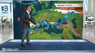 Peggiora al Centro-Sud con nevicate in Appennino; giornata asciutta al Nord...