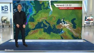 Molte nubi al Centronord, deboli piogge tra Liguria e alta Toscana. Sole altrove...
