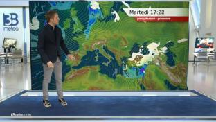 Nubi in lento graduale aumento e qualche pioggia a partire da Toscana e Liguria...
