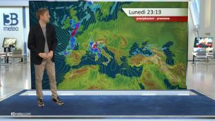 Acquazzoni e temporali al Nord e sul medio-alto Tirreno, più sole altrove...