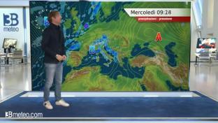 Marcata instabilità tra Toscana e Lazio, spiccata variabilità altrove...