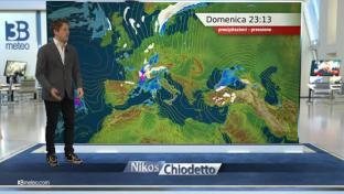 Piogge e rovesci al Centro-Nord, anche intensi tra Liguria e alta Toscana...