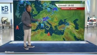 Spiccata instabilità al Nord e Toscana con temporali anche forti. Estate al Sud...