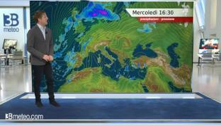 Nubi irregolari al Nord, qualche pioggia entro sera tra Piemonte e Liguria....