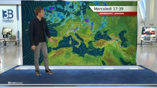 Ancora qualche acquazzone o temporale al Nord, gran caldo su Adriatiche e Sud...