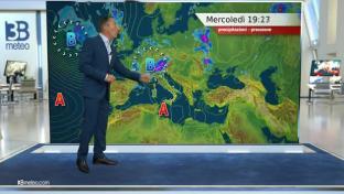 Instabile al Nord con temporali; bello altrove ma peggiora su Toscana ed Emilia...